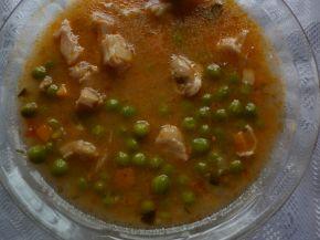 Снимка 3 от рецепта за Патешко с грах