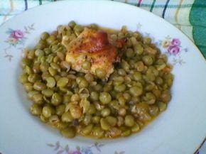 Снимка 5 от рецепта за Патешко с грах