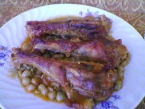 Снимка 6 от рецепта за Патешко с грах