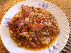 Снимка 9 от рецепта за Патешко с грах
