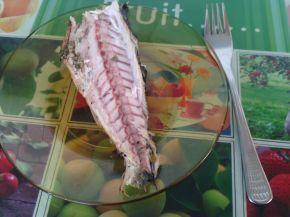 Снимка 4 от рецепта за Печена риба скумрия