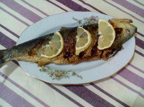Снимка 5 от рецепта за Печена риба скумрия