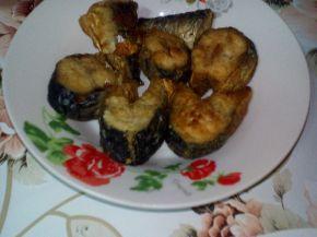 Снимка 4 от рецепта за Печена скумрия с лук във фурна