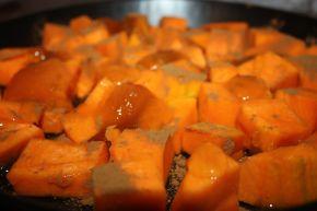 Снимка 2 от рецепта за Печена тиква с канела и мед