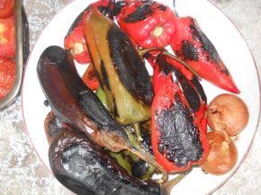 Снимка 2 от рецепта за Печена зеленчукова разядка
