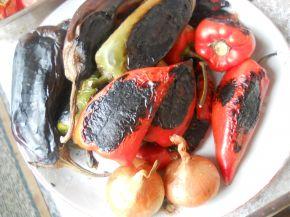 Снимка 4 от рецепта за Печена зеленчукова разядка
