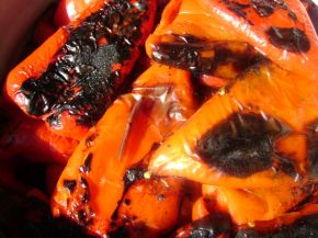 Снимка 2 от рецепта за Печени чушки