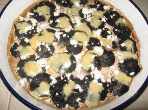 Снимка 4 от рецепта за Печени диви гъби с 3 вида сирена