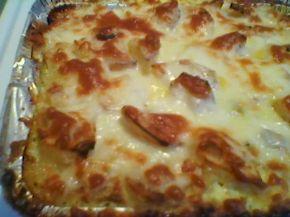 Снимка 10 от рецепта за Печени картофи със сметана
