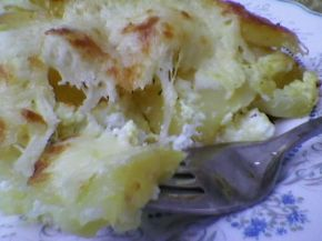 Снимка 5 от рецепта за Печени картофи със сметана