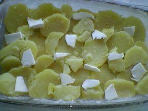 Снимка 7 от рецепта за Печени картофи със сметана