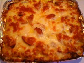 Снимка 9 от рецепта за Печени картофи със сметана