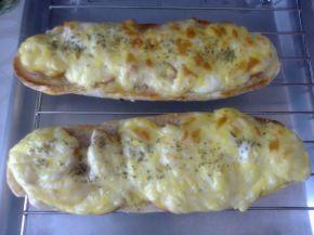 Снимка 2 от рецепта за Печени сандвичи от багети