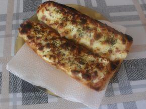 Снимка 6 от рецепта за Печени сандвичи от багети