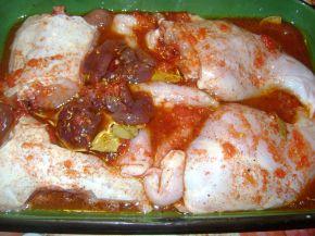 Снимка 2 от рецепта за Печено заешко в марина