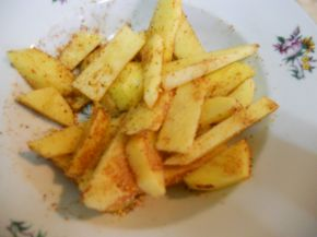 Снимка 2 от рецепта за Пикантни пържени картофки