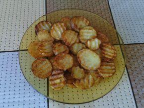 Снимка 3 от рецепта за Пикантни пържени картофки