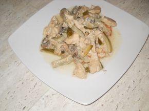 Снимка 4 от рецепта за Пиле `Жулиен`