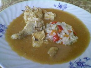 Снимка 3 от рецепта за Пиле каша