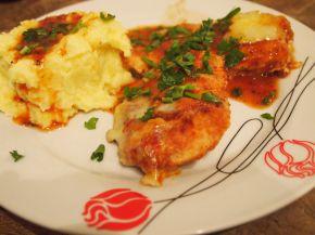 Снимка 3 от рецепта за Пиле `Маринара`