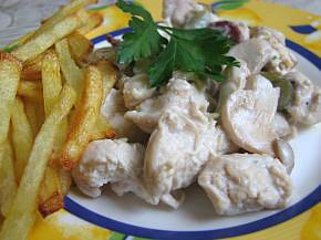 Снимка 3 от рецепта за Пиле по ловджийски