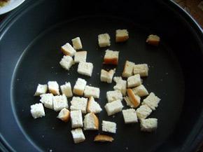 Снимка 2 от рецепта за Пиле с чеснов сос и крутони