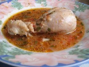 Снимка 1 от рецепта за Пиле с доматен сос