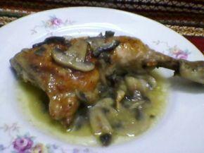 Снимка 2 от рецепта за Пиле с гъби