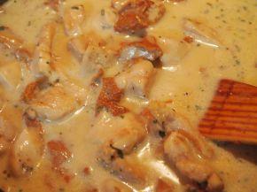 Снимка 2 от рецепта за Пиле с манатарки