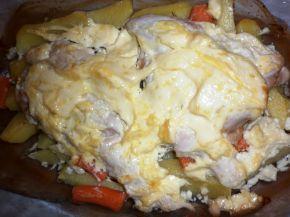 Снимка 5 от рецепта за Пиле с майонеза