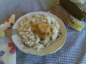Снимка 10 от рецепта за Пиле с ориз на фурна