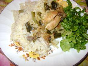Снимка 2 от рецепта за Пиле с ориз на фурна