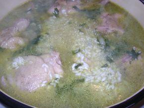 Снимка 4 от рецепта за Пиле с ориз на фурна