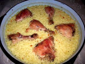 Снимка 8 от рецепта за Пиле с ориз на фурна