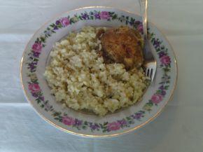 Снимка 2 от рецепта за Пиле с ориз - варено