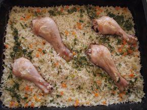 Снимка 2 от рецепта за Пиле с ориз