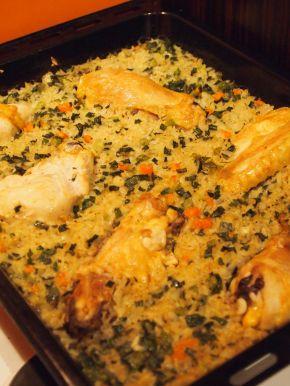 Снимка 3 от рецепта за Пиле с ориз