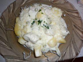 Снимка 3 от рецепта за Пиле със зеленчуци и сметана