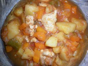 Снимка 4 от рецепта за Пилешка яхния
