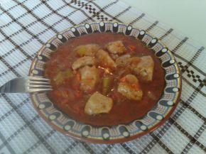 Снимка 5 от рецепта за Пилешка кавърма