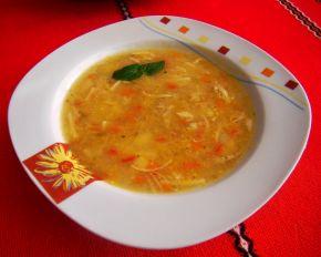 Снимка 4 от рецепта за Пилешка супа без застройка