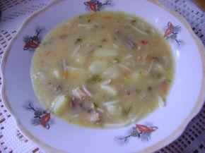 Снимка 5 от рецепта за Пилешка супа без застройка
