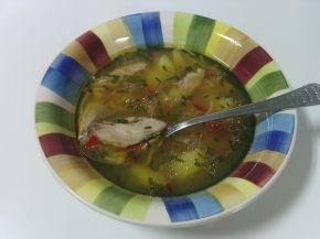 Снимка 2 от рецепта за Пилешка супа с картофи