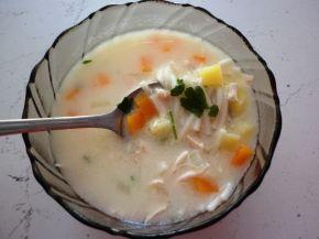 Снимка 5 от рецепта за Пилешка супа
