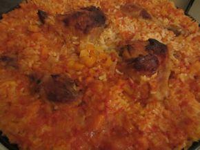 Снимка 2 от рецепта за Пилешки бутчета с ориз