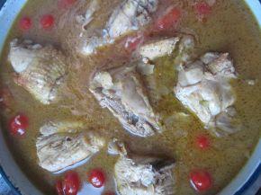 Снимка 4 от рецепта за Пилешки бутчета с ориз