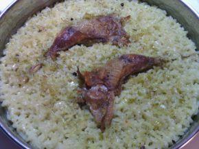 Снимка 6 от рецепта за Пилешки бутчета с ориз