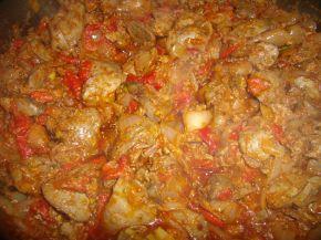 Снимка 2 от рецепта за Пилешки дробчета по селски