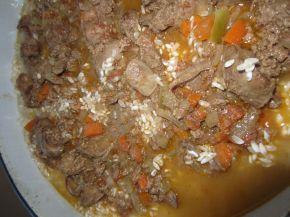Снимка 5 от рецепта за Пилешки дробчета с ориз и маслини