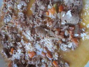 Снимка 6 от рецепта за Пилешки дробчета с ориз и маслини